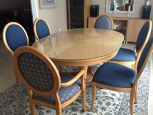 Radius Ethan Allen Dining Room Table and Chairs