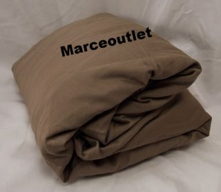 Hudson Park 800 Thread Count Egyptian Cotton Queen Fitted Sheet Mocha