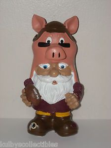 "Washington Redskins Mascot ""Hogs"" Mad Hatter Garden Gnome Figurine Statue NFL"