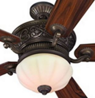 Harbor breeze ceiling fan specialty bronze 52 harbor breeze ceiling fan w frosted light kit remote aloadofball Image collections