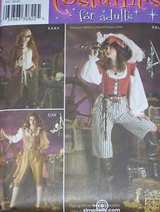 ... Simplicity 3677 Sexy Pirate Wench Costume Pattern ... & pirate wench costume small dress on PopScreen