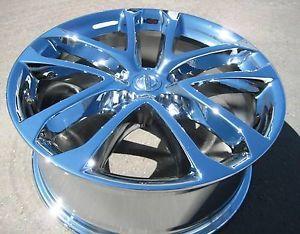 "4 New 18"" Factory Nissan Altima Chrome Wheels Rims 09 13 Maxima Murano 62521"