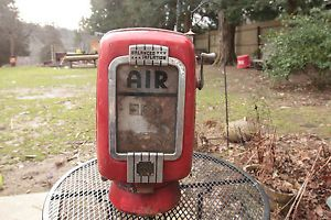 Eco Tireflator Air Meter Vintage Air Pump Gas Station