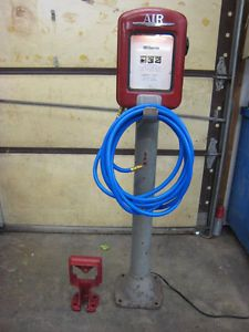 Gilbarco Air Meter Pump Pedestal Eco Tireflator