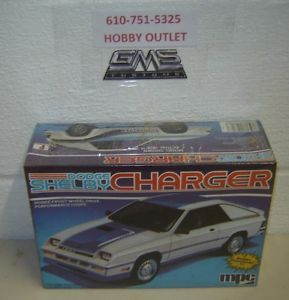 MPC Model Kit 1 0718 Dodge Shelby Charger 1 25 gms Customs Hobby Outlet
