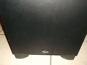 Klipsch KSW 10 Powered Subwoofer Amplified Speaker Deep Bass KSW10 Home Theater