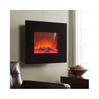 Electric Wall Mount Fireplaces Heater Ventless Decorative Gas Logs Stove Screens