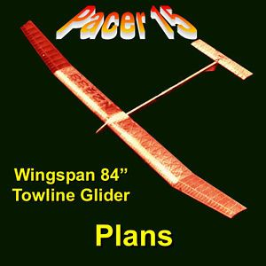 Freeflight A 2 Tow Line Nordic Glider Model Airplane Plans Building Notes