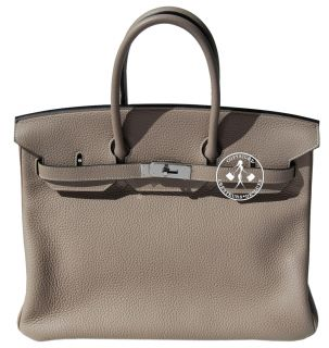 35 Hermes Birkin Bag Gris Tourterelle Clemence Palladium 9669