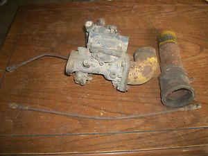 Caterpillar Antique Gas Crawler Tractor 10 Ten 15 Fifteen Ensign Carburetor RARE
