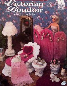 Crochet Victorian Boudoir Annie's Fashion Doll Decor