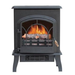 Electric Stove Oven Freestanding Fireplace Heater Wood Burner Portable Realistic