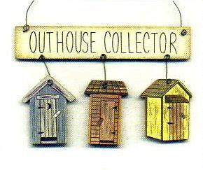 Outhouse 3 Hang Primitive Sign Bathroom Home Decor