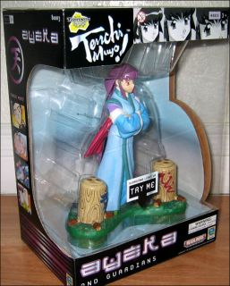 Tenchi Muyo Ayeka and Guardians Light Up Toy Figure Model Statue Pioneer Equity