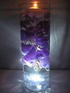 Wisteria Floating Candle Wedding Centerpiece Kit Home Decor LED Light