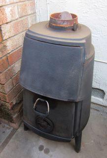 Potbelly Cast Iron Wood Burning Stove