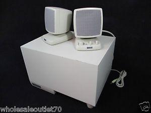 Altec Lansing Multimedia Computer Speakers Subwoofer Kit ACS340 21986943402