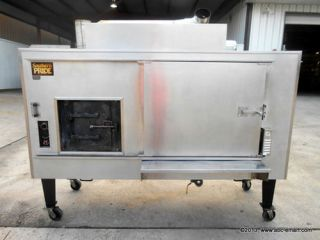 Southern Pride Gas Commercial Smoker BBQ Meat Processing Large Scale BBQ