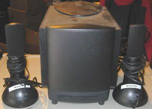 Altec Lansing Multimedia Computer Speaker System Powered Subwoofer ATP3 9465