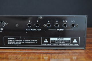 Korg M1R Synthesizer Module w Pop Rock Akira Drums New Age Sound Cards 2313