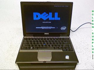 Dell Latitude D420 Laptop w Intel Core Duo 1 20GHz 2 5GB of RAM No HDD