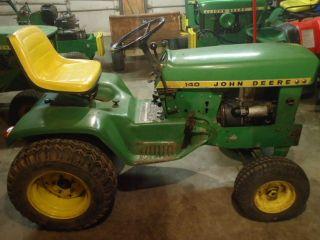 1973 John Deere 140 H3 Lawn and Garden Tractor