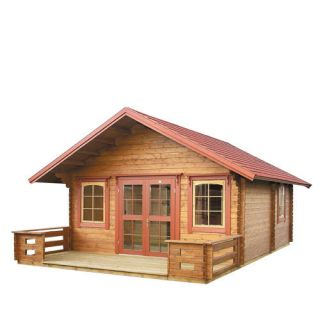 Cabin Kit Lillevilla Getaway Comes with The Loft Log Cabin