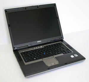 """Dell Latitude D830 Intel Core 2 Duo T8300 2 4GHz 2GB 250GB 15 4"""" Notebook PC"""