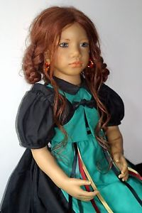 """Madina Doll 27"""" Collector's Doll by Annette Himstedt"""