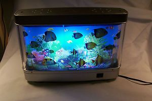 Fish Aquarium Motion Night Lamp