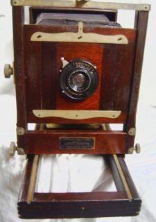 Antique Kodak 2D 5x7 Eastman View Camera Wollensak Betax NO2 Lens