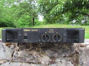 Yamaha H5000 Professional Stereo Power Amplifier 550W 550W 2U Rack Amp