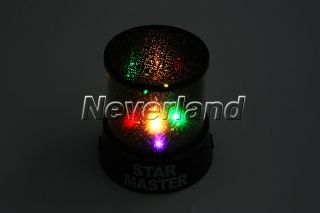 Romantic Sky Star Master Projector LED Night Light Lamp Amazing Kids Gift