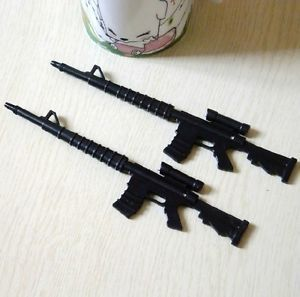 1PENS New Novelty Rifle Gun Weapon Ball Point Pen Office Supply Craft Toy