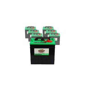 6 x 232AH 6V Wet Deep Cycle Battery Interstate GC2 XHD for Solar RV