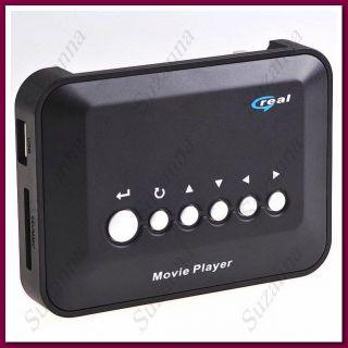 720P HD Media Centre RM RMVB Avi MPEG4 TV Player with Remote Control