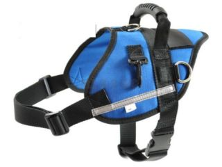 Large Service Dog Walking Harness Pulling Harness Multipurpose Free Shipping