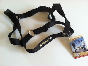 New Sense Ation Dog Harness No Pull Harness Large Black