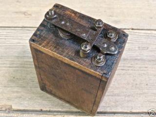 Ford Hot Shot Ignition Coil Buzz Model T Old Antique Original Vintage Wood