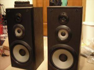 Sony SS B3000 3 Way Bookshelf Speakers Black SSB3000