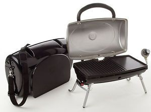 ... George Foreman GP160A Outdoor Portable Propane Grill W Carry Case ...