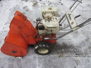 """Ariens 2 Stage 7HP 24"""" Snow Blower Electric Start Chains Serviced"""