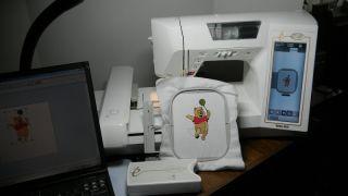 Babylock Ellageo ESG2 Embroidery Machine PC Palette Design Software Digitizer