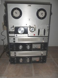 Vintage Akai M8 Cross Field Reel to Reel Tape Recorder Nice Original Working