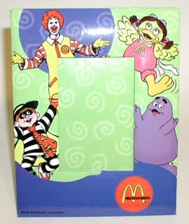 1 Ronald McDonald's Characters Photo Picture Frame