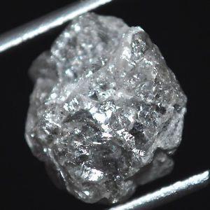 9 42 Ct Big Natural Raw Rough Loose Diamond Grayish Uncut Diamond