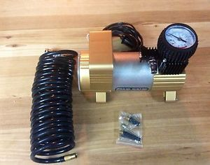 Heavy Duty Victor 12 Volt 150 PSI Portable Air Compressor Light Camping RV SUV