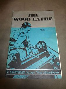 The Wood Lathe 2nd Edition Craftsman Power Tool Handbook 32 Page 1942 Copyright