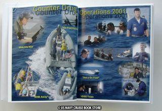 USS Ticonderoga CG 47 Cruise Book Southcom 2001
