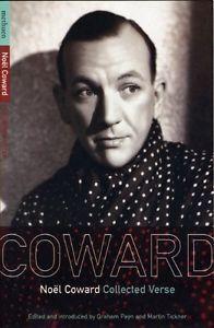Noel Coward Collected Verse Noel Coward Paperback Book